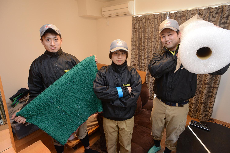 引越屋の若手が本気で先輩の家を空にしてみました。