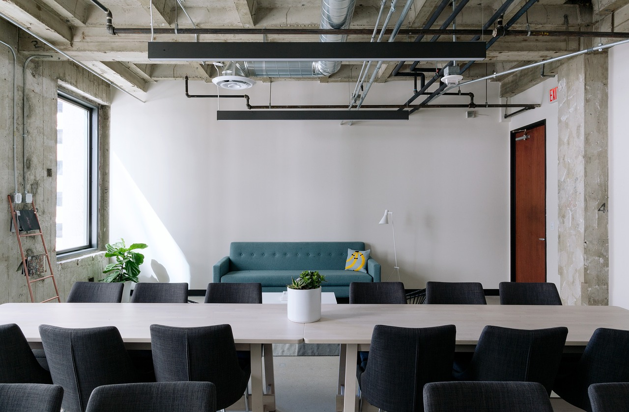 Office moving design layout
