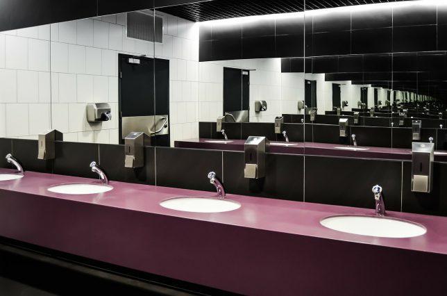 トイレはオフィス環境の最優先事項(Toilets are important in the office environment)
