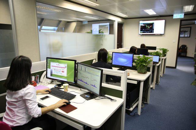 一般的な執務のオフィススペース