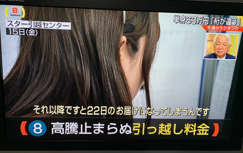 【3/17(日)テレビ朝日サンデーステーションに取り上げて頂きました。】