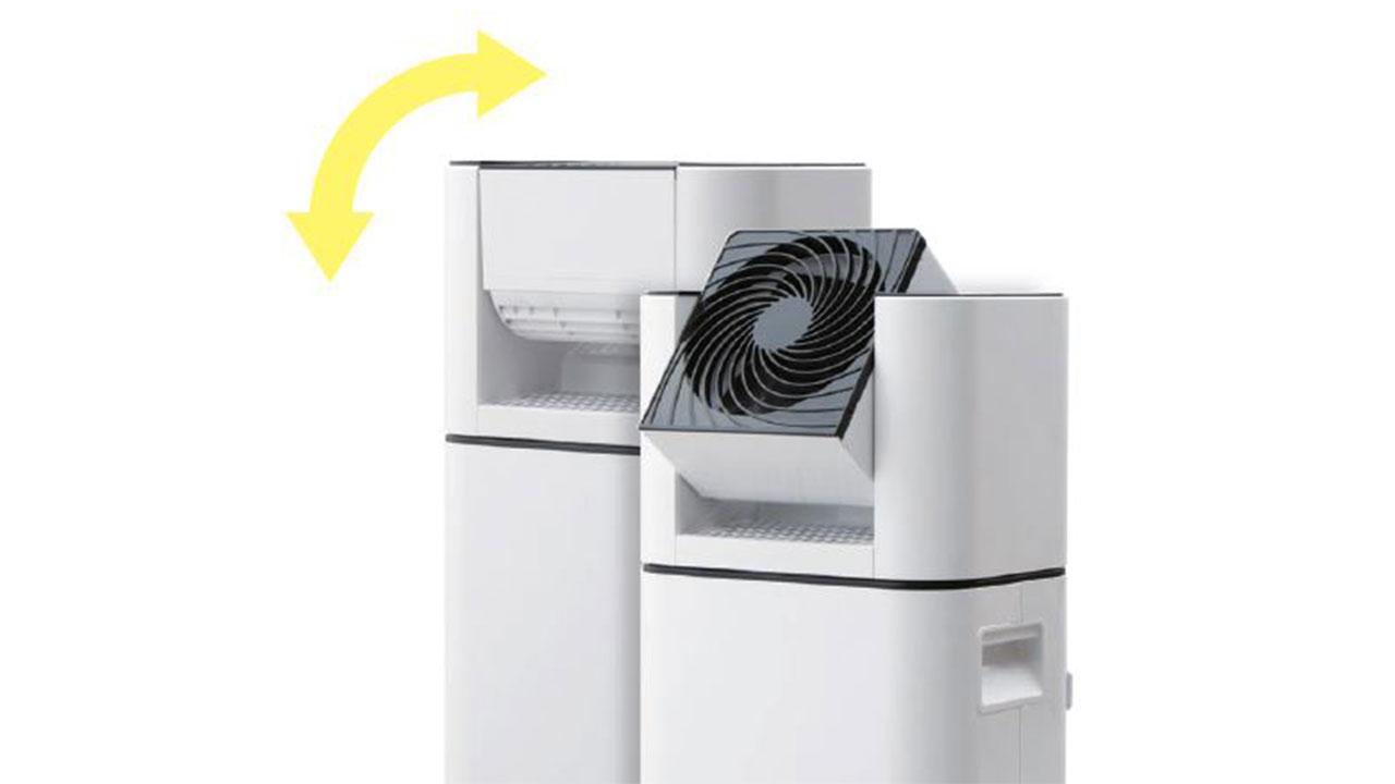 サーキュレーター衣類乾燥除湿機のサーキュレーター機能のおかげで冬場も使える