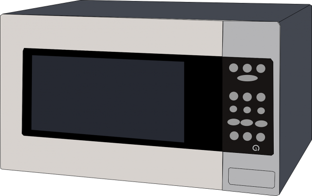 Livingalone-microwave