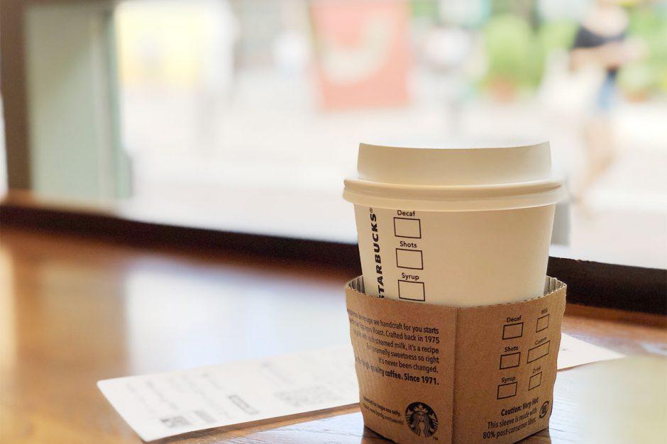 スタバでコーヒーを150円でおかわりできる!ある方法を使うと100円でおかわりすることも!