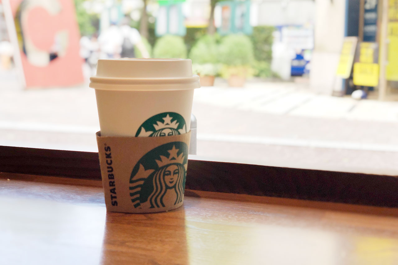 スタバのドリップコーヒーショートサイズ